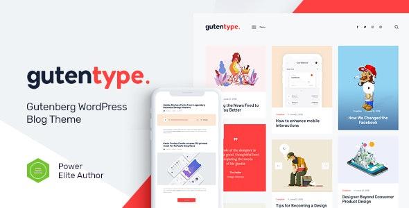 Nulled Gutentype v2.0 - 100% Gutenberg WordPress Theme