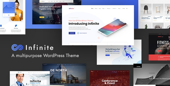 Nulled Infinite v3.4.0 - Multipurpose WordPress Theme