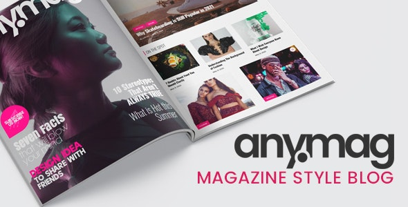 Nulled Anymag v2.1.2 - Magazine Style WordPress Blog