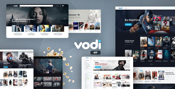 Nulled Vodi v1.2.5 - Video WordPress Theme for Movies & TV Shows