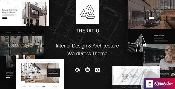 Nulled Theratio v1.1.4.3 - Architecture & Interior Design Elementor WordPress Theme
