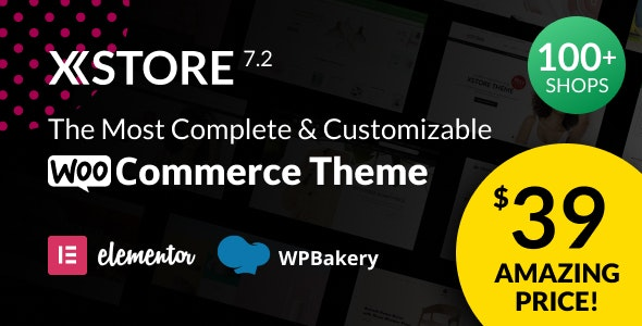 Nulled XStore v7.2.7 - Responsive MultiPurpose WooCommerce WordPress Theme